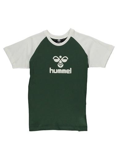 Hummel  Faretta Kısa Kollu Tışört Yeşil